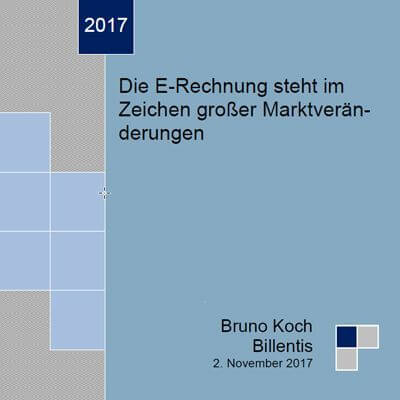 Billentis Report E-Invoicing/ E-Billing 2017