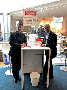 v.l. Gang Huan und Rainer Barthel, SEEBURGER AG